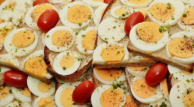 des peufs et des protéines